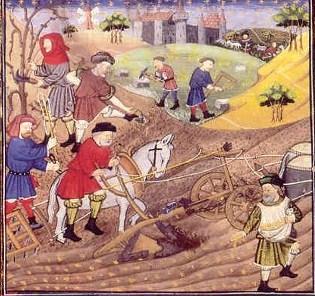 boeren in vroeger eeuwen